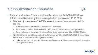 Kelan työnantaja-webinaari - Tulorekisterin vaikutukset päiväraha-asiointiin