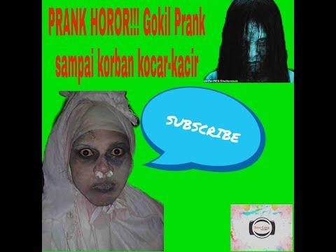 PRANK HOROR!!! Gokil Prank sampai korban kocar kacir