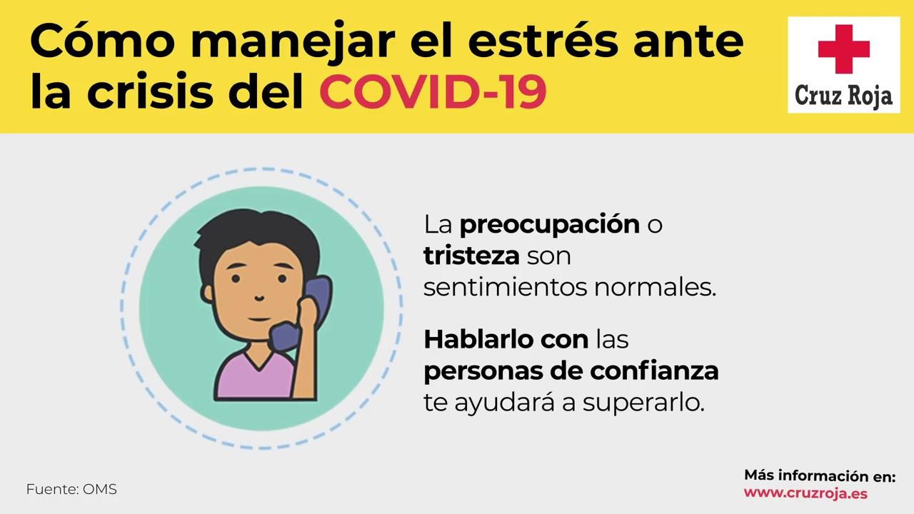#COVID19: Consejos para manejar el estrés