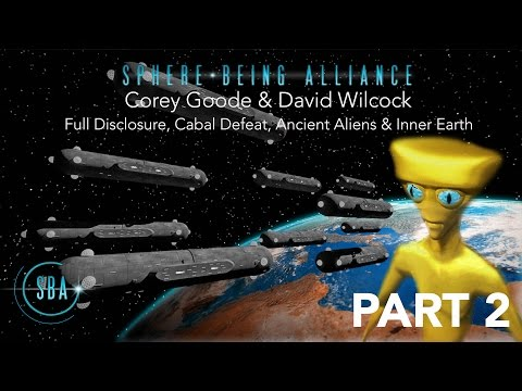 Disclosure, Cabal's Defeat, Ancient Aliens & Inner Earth - Corey Goode & David Wilcock CLE 2017