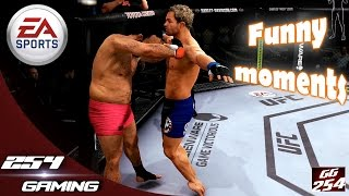 WE BROKE THE UFC GAME!- CRUCIFIED GLITCH! (Funny UFC Game Fighting)
