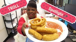 Crunchy Onion Rings & Mozzarella Sticks(special song for the TROLLS)