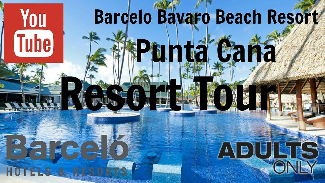 Barcelo Bavaro Beach Walking Tour Feb 2013 Youtube