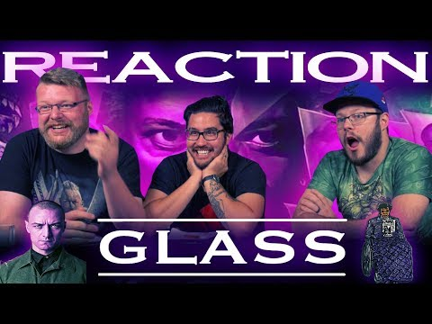 Glass - Official Trailer REACTION!! SDCC 2018