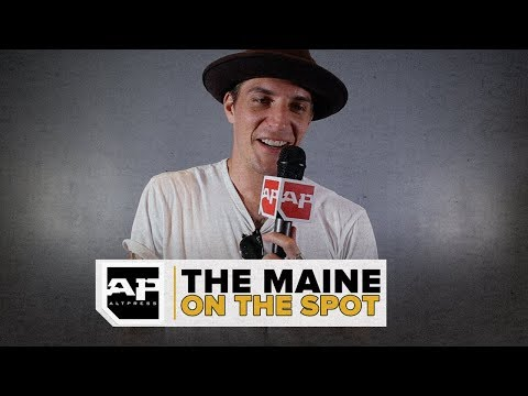 John O'Callaghan of The Maine Discusses Regrettable Lyrics and American Candies