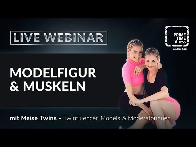 Modelfigur und Muskeln (live Webinar)