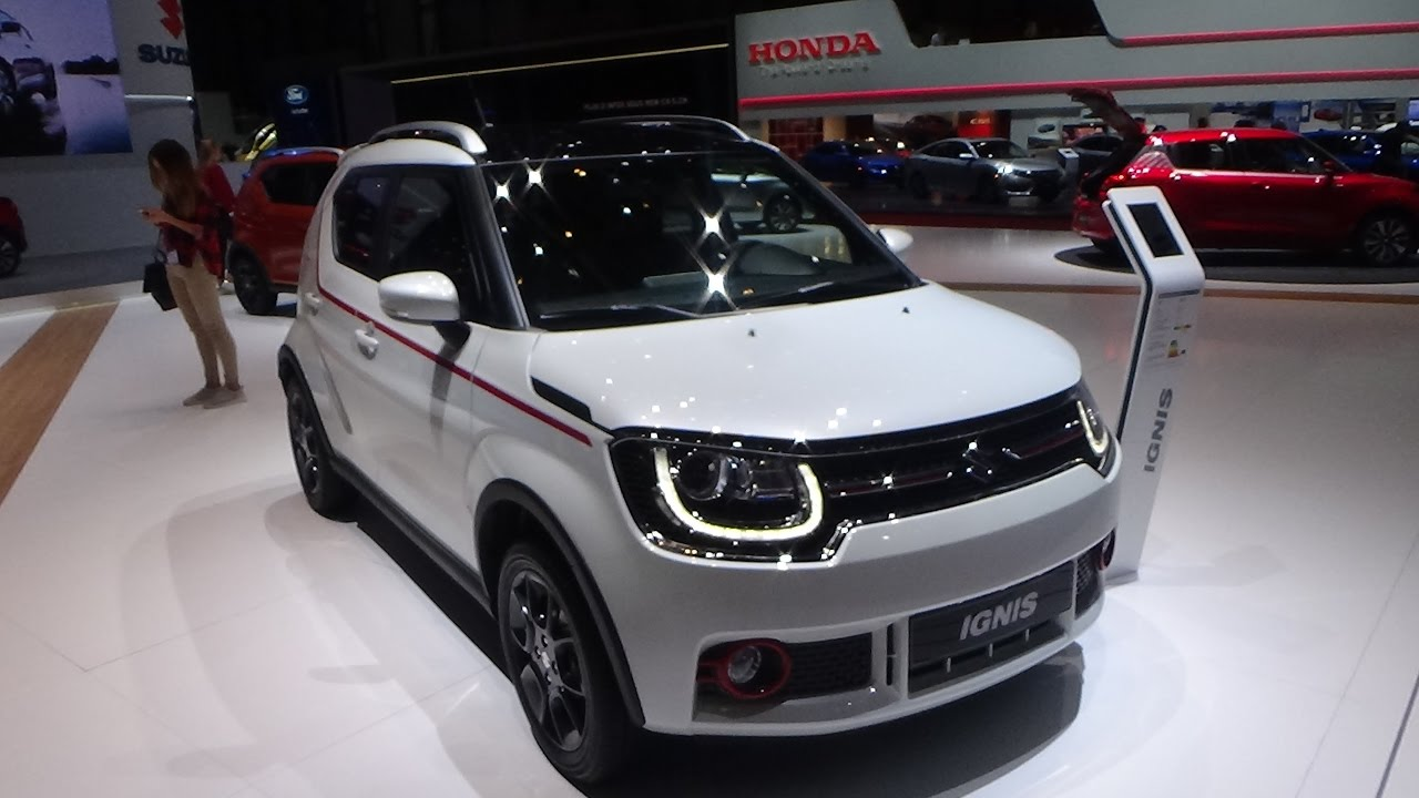 2017 suzuki ignis compact top 4x4 exterior and interior geneva motor show 2017 youtube. Black Bedroom Furniture Sets. Home Design Ideas