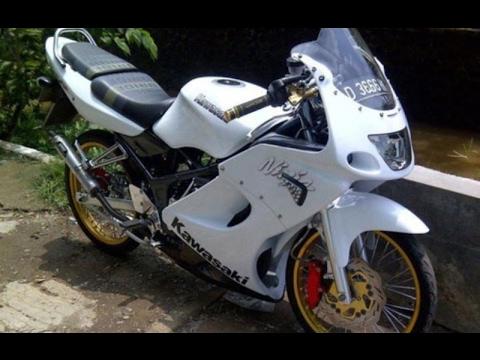 Video Modifikasi Motor Kawasaki Ninja Rr Old Velg Jari Jari Keren Terbaru Youtube