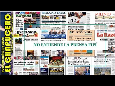 La prensa mexicana escondió la nota del soborno del Chapo a EPN