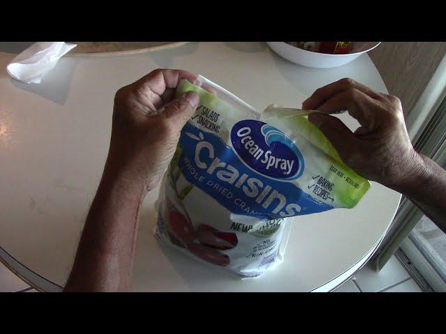Ba mở bọc trái cây khô - NVTC2 033 - Ocean Spray Craisins Dried Cranberries November 7, 2019