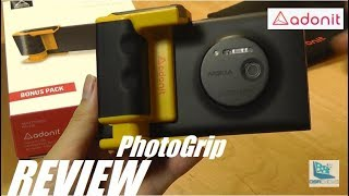 REVIEW: Adonit PhotoGrip - Best Phone Camera Grip!