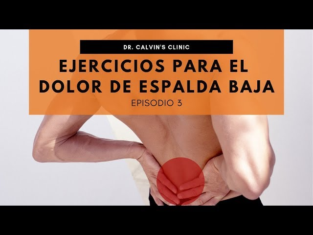 Ejercicios para dolor de espalda - Video 3
