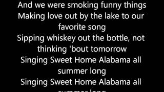 Kid Rock- All Summer Long ( Lyrics )