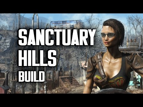 "Sanctuary Hills ""Lived-In"" Settlement Build - Fallout 4"
