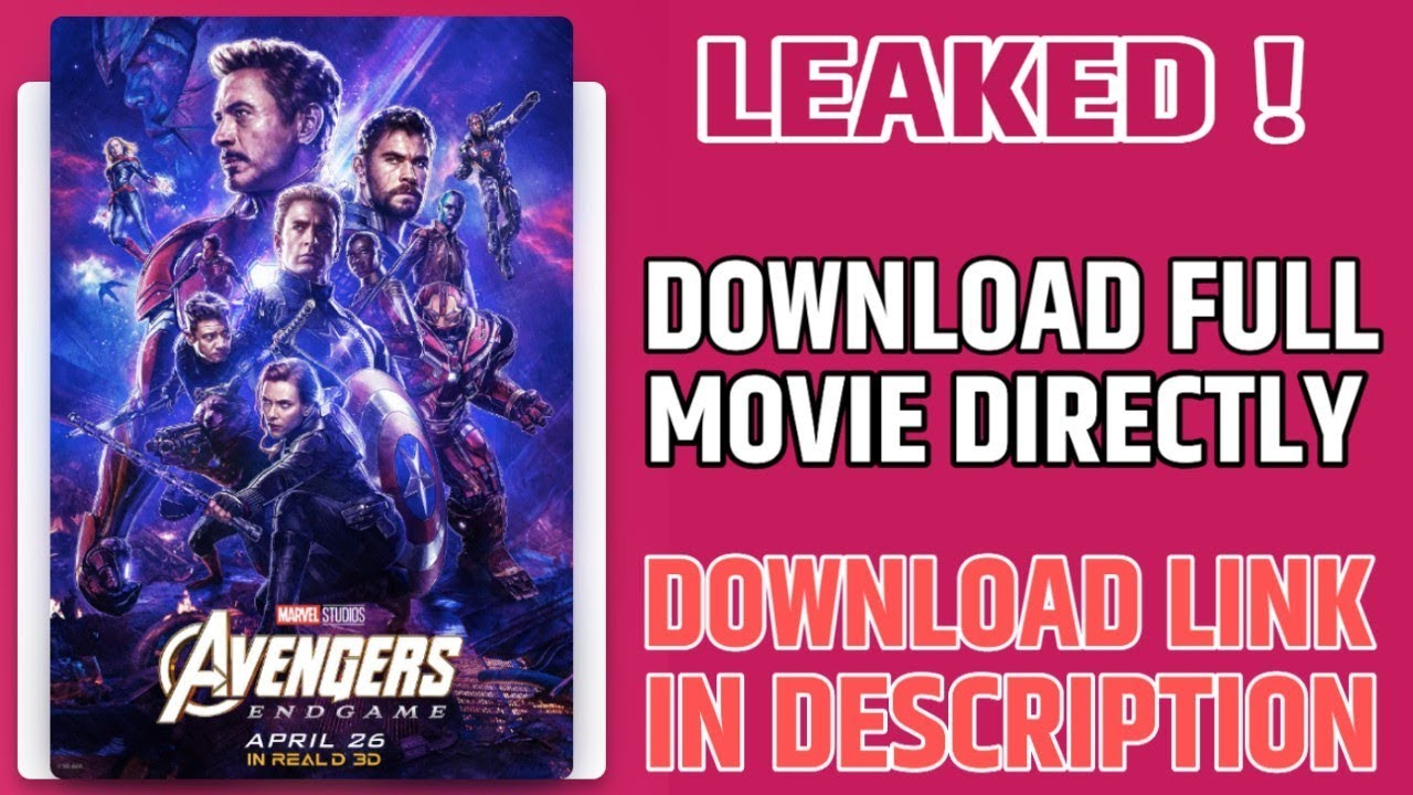 Avengers : Endgame Leaked | Download From Google Drive Directly