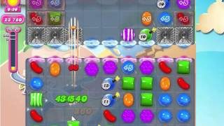 Candy Crush Saga Level 1602 with 3 stars,  NO BOOSTERS!