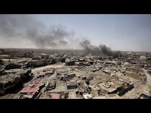 "Irak proclama ""liberada"" a Mosul y ""victoria"" sobre el EI"