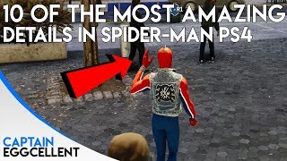 10 Of The Most AMAZING Details In Spider-Man PS4