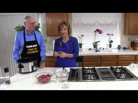 How To Make Dad's Favorite Beef Stew!  An Easy, Healthy Crockpot Recipe!