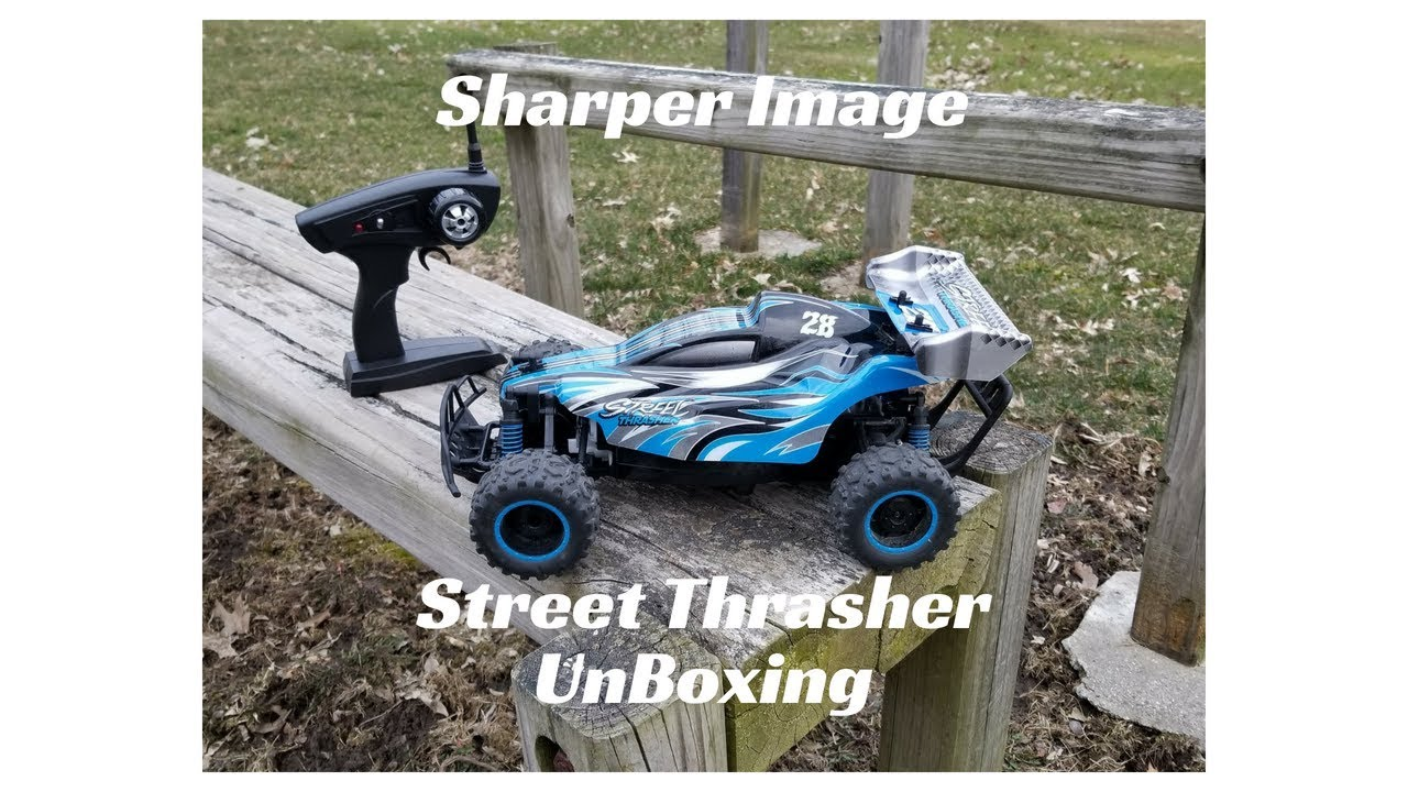 Sharper Image Street Thrasher Unboxing Youtube