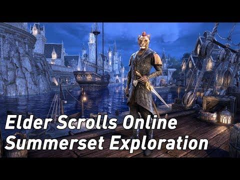 The Elder Scrolls Online Summerset: trotting around Summerset Isle