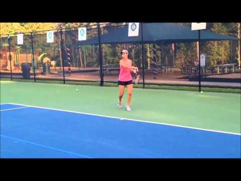 Allison Whitley Tennis Recruiting Video
