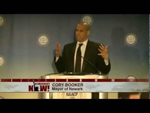 """Lift Every Voice"": Potential Senate Hopeful Cory Booker Praises Harry Belafonte"