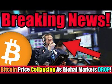 Uh Oh! Bitcoin Price DROPPING FAST as The Fed and European Central Bank Make MAJOR ANNOUNCEMENT 🔴