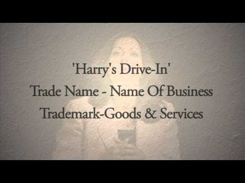 Maria explains the difference between a trade name and a trademark.