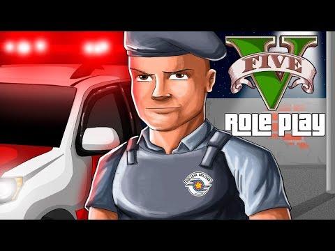GTA V RP Vida Real - O Policial Bob