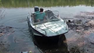 видео Ямаха 4 - экономичный лодочный мотор