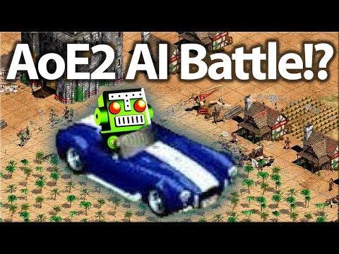AoE2 AI Battle | Barbarian vs Illuminati!