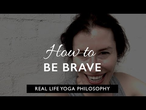 Real life yoga philosophy: step outside your comfort zone