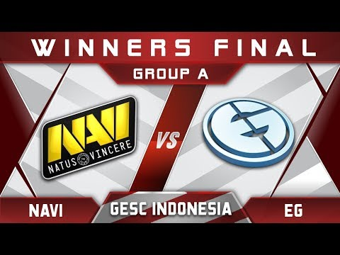 EG vs NaVi Winners Final GESC Indonesia 2018 Minor Highlights Dota 2