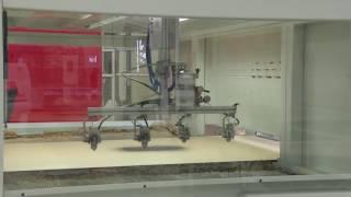 Автоматическая распылительная система Prima G для отделки компании Cefla
