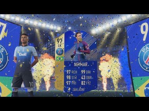 PADL MI TOTS NEYMAR!!! 🔥 A 96 IBRA JE NEJLEPŠÍ HRÁČ | FIFA 18 CZ