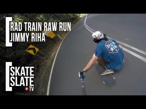 Jimmy Riha - Rad Train Raw Run Australia - Skate[Slate].TV