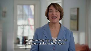 Let's Get to Work — Amy Klobuchar's Presidential Announcement Video