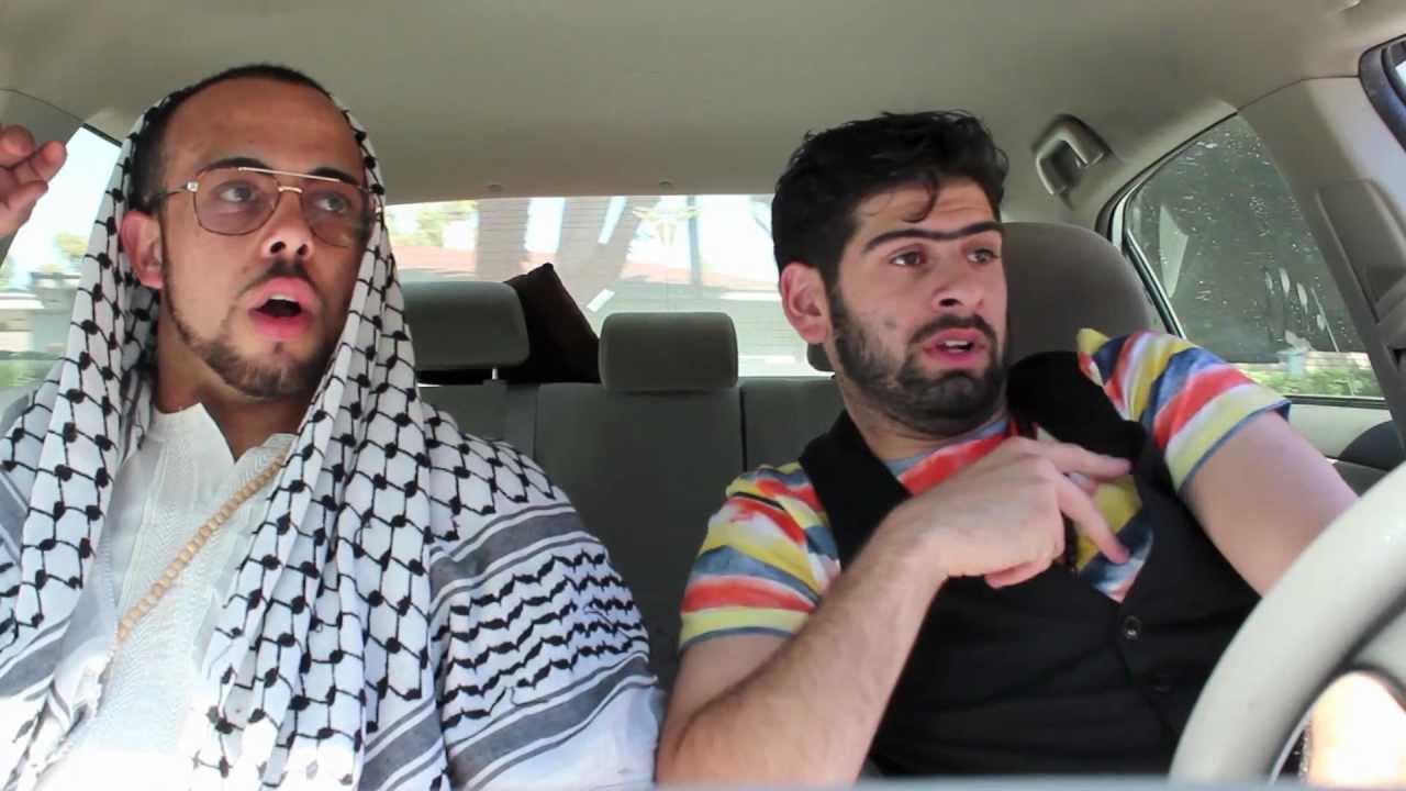 Driving instructor arab