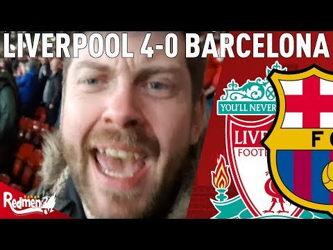 THE BEST EVER ANFIELD NIGHT! | Liverpool v Barcelona 4-0 | Paul's Match Reaction