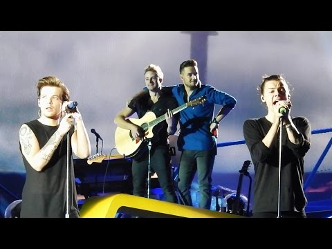 You & I - One Direction - Wien, Vienna, Austria  - OTRA - 10/06/2015 - LARRY focused