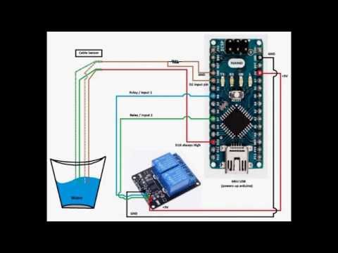 arduino relay control (ac / 220v), with circuit diagram part-b