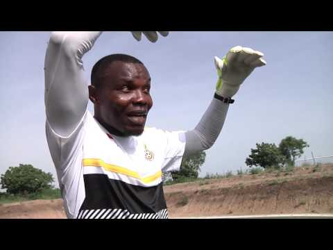 A visit to Ghanaman Soccer Centre of Excellence for Black Stars B training plus interviews