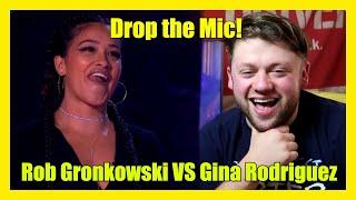 Drop the Mic: ROB GRONKOWSKI vs GINA RODRIGUEZ Reaction!!!