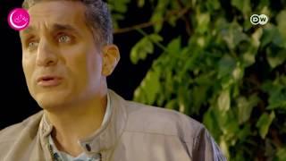 باسم يوسف: برامج «التوك شو» نشرات أخبار حكومية والشباب يتابعها للسخرية | المصري اليوم