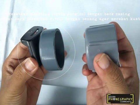 Modifikasi Nokia N70 Dengan Lensa Fix Atau Lensa Kit