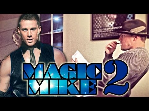 Channing Tatum's Magic Mike 2 Inspiration!