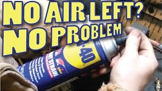 Refill flat AEROSOL Spray Cans like the WD-40 and others thumbnail