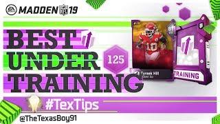 Best Offensive Power Ups Under 125 Training | Budget Power Ups |  Madden 19 Ultimate Team
