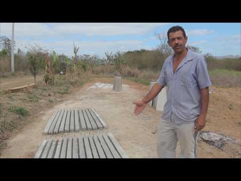 Oficina de construção de cisterna de placas para armazenamento de água das chuvas